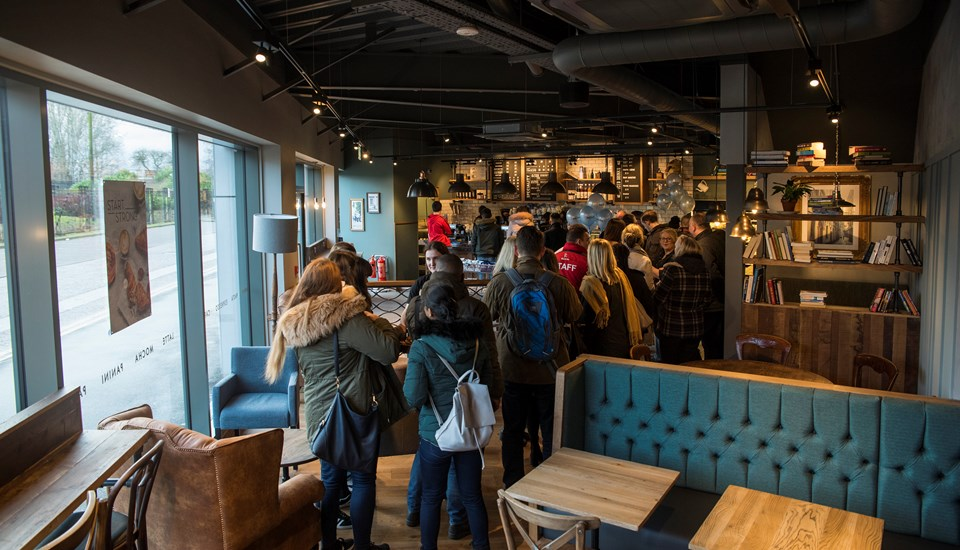 Emirates Old Trafford Caffe Nero serves nearly 200 customers in two hours.jpg