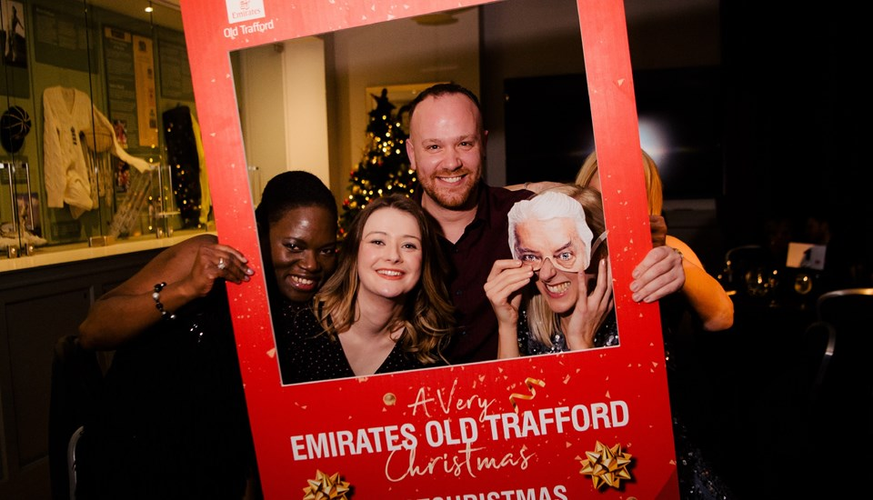 Emirates Old Trafford Pavilion Christmas Party 2018, Selfie Board.jpg