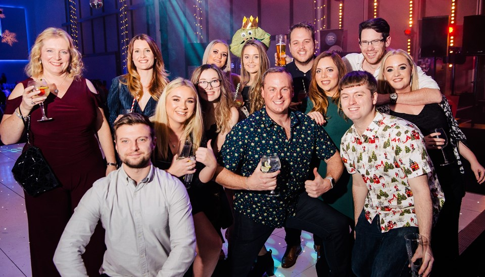 Emirates Old Trafford Works Finished Christmas Party 2018, Colleagues.jpg