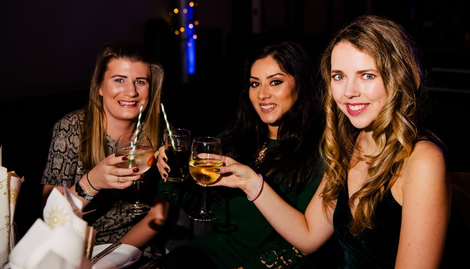 Emirates Old Trafford Works Finished Christmas Party 2018, Friends.jpg