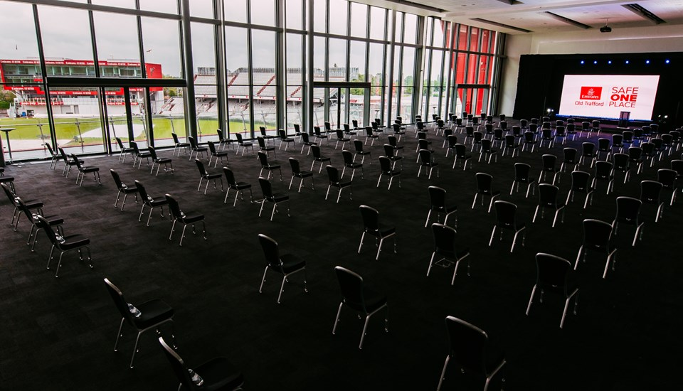Emirates Old Trafford conference facility.jpg