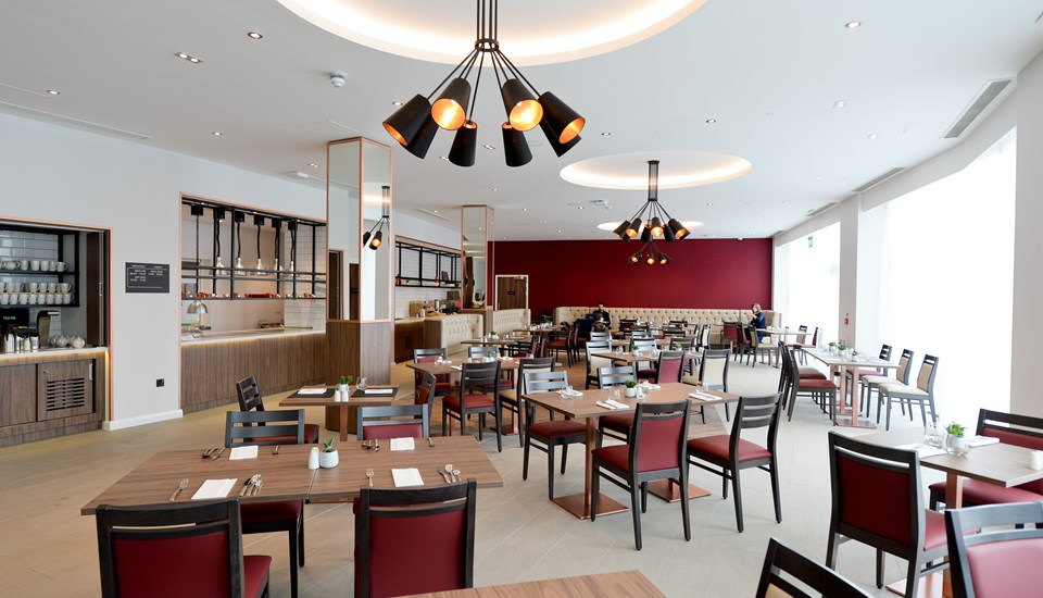 The Restaurant at the Hilton Garden Inn Manchester Emirates Old Trafford.jpg