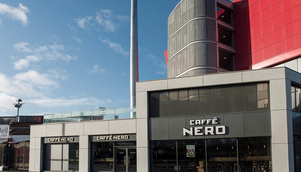 Emirates Old Trafford Caffe Nero external shot.jpg