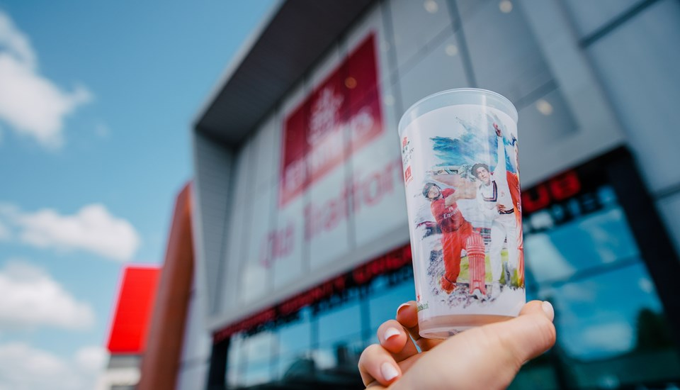 Lancashire Cricket Club, Emirates Old Trafford cups.jpg