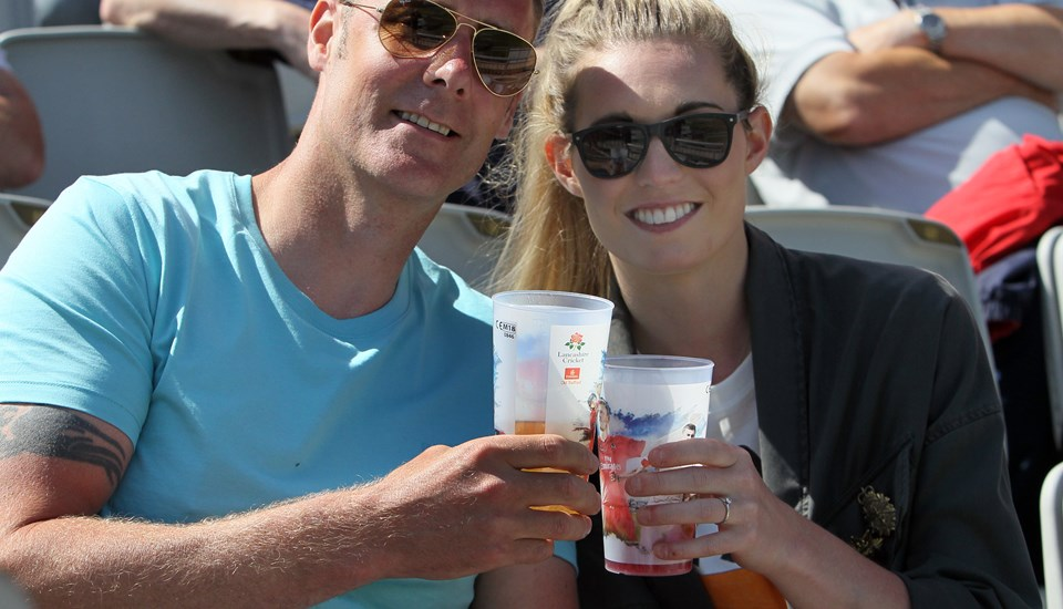 Emirates Old Trafford, reusable cup, Lancashire Cricket Club.jpg
