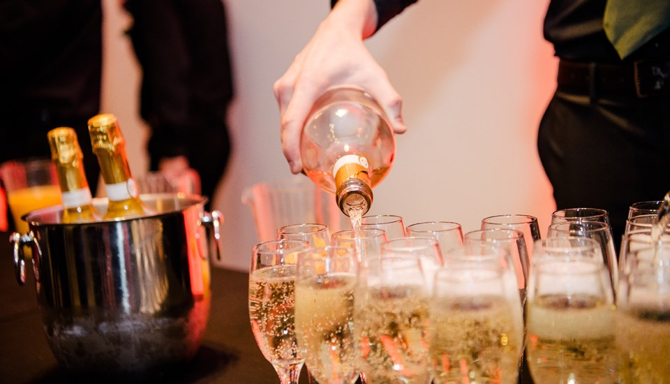 Emirates Old Trafford Christmas Extravaganza 2018, Arrival Drinks.jpg