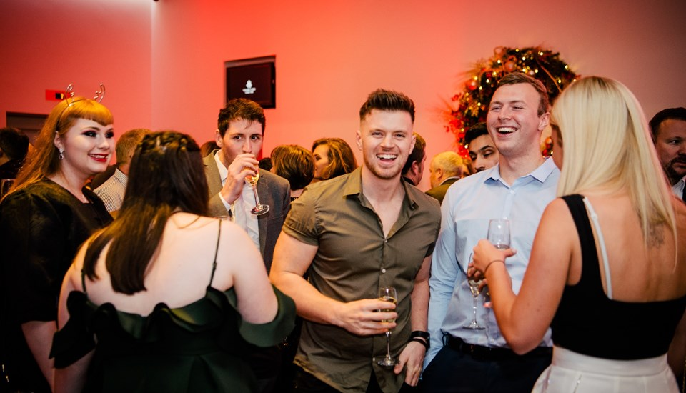 Emirates Old Trafford Christmas Extravaganza 2018, Party Goers.jpg