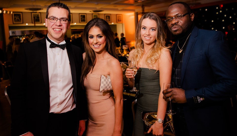 Emirates Old Trafford Pavilion Christmas Party 2018, Party Goers.jpg