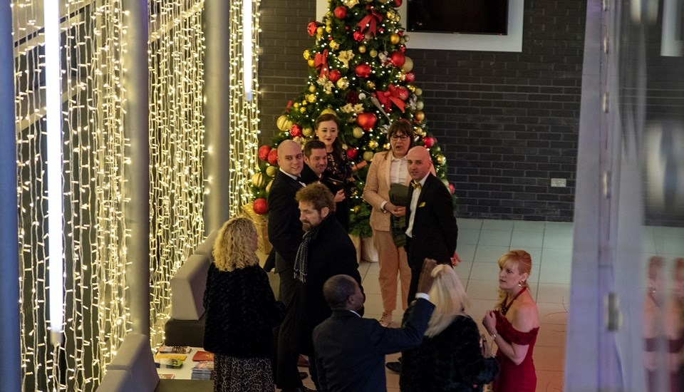 2018 Private Christmas Party at Emirates Old Trafford, Arrival, Pavilion Reception.jpg