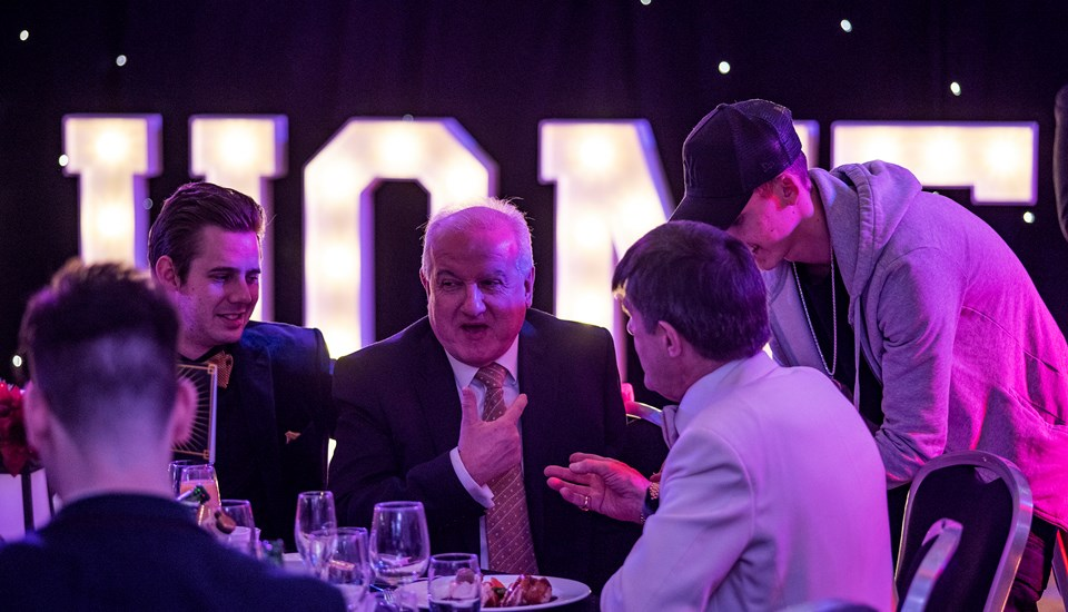 2018 Private Christmas Party at Emirates Old Trafford, Entertainment - Magician.jpg