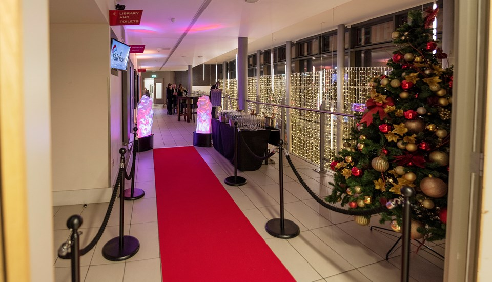 2018 Private Christmas Party at Emirates Old Trafford, Red Carpet.jpg