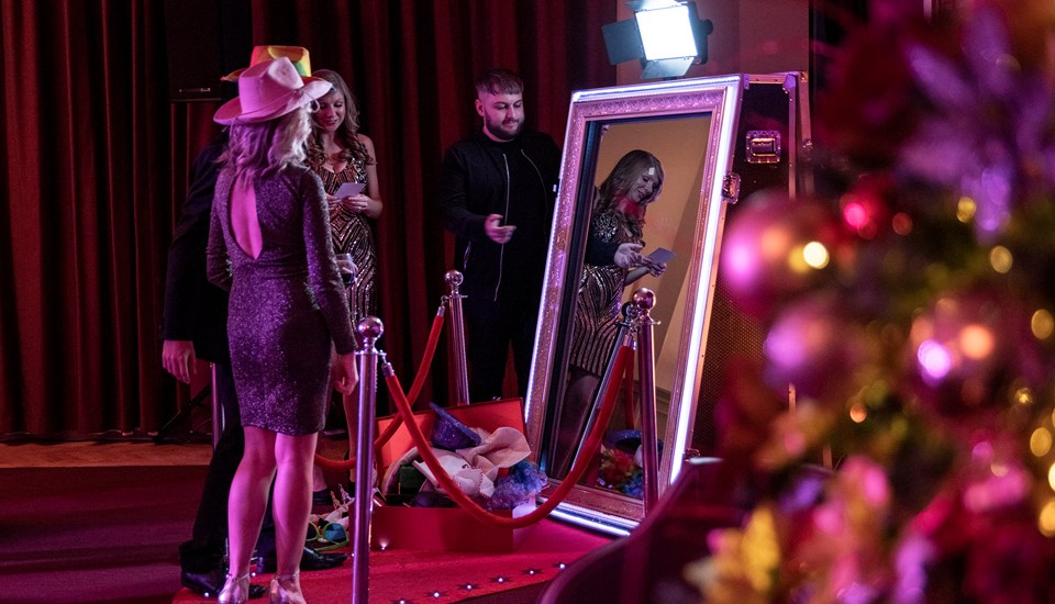 2018 Private Christmas Party at Emirates Old Trafford, Selfie Mirror.jpg