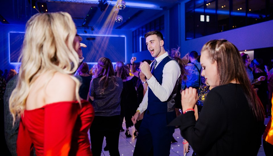 Emirates Old Trafford Works Finished Christmas Party 2018, Dancing.jpg