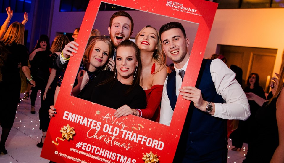 Emirates Old Trafford Works Finished Christmas Party 2018, Selfie Board1.jpg